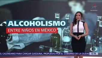 Alcoholismo entre niños en México