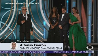 Alfonso Cuarón agradece a México por nominaciones de 'Roma' al Oscar