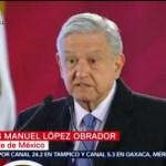 AMLO dice que todos los días recibe datos de homicidios en México