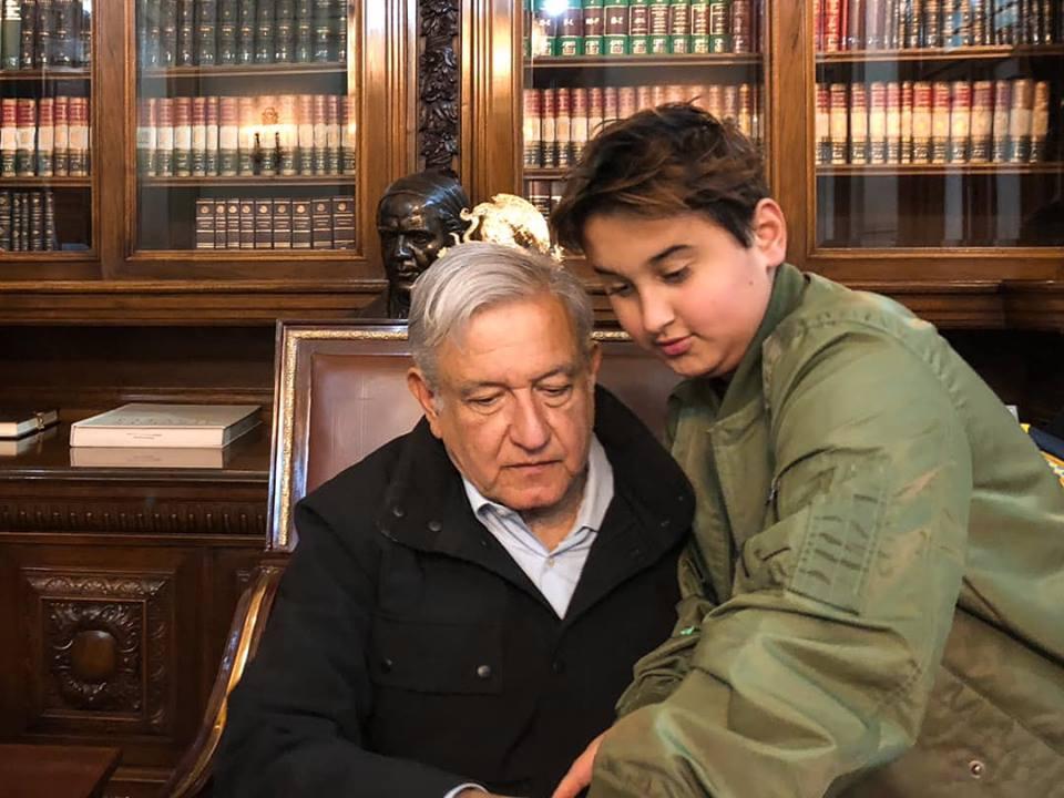 AMLO Recibe Visita De Jesus Ernesto En Palacio Nacional, Hijo Menor De AMLO, AMLO, Hijo, Jesús Ernesto López Gutierrez, AMLO Hijo Chocoflan