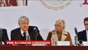 AMLO Reúne Legisladores Morena PES PT