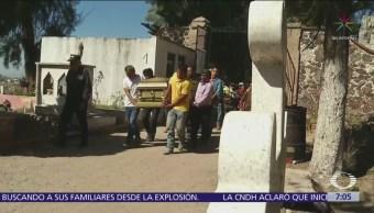 Ampliarán panteón municipal de Tlahuelilpan para enterrar a víctimas de explosión