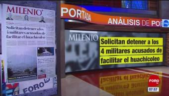 Análisis de las portadas nacionales e internacionales del 18 de enero del 2019