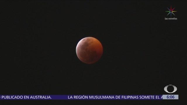 Así se vio el eclipse lunar en la CDMX