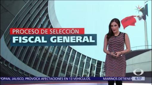 Avanza proceso de selección para elegir Fiscal General de la República