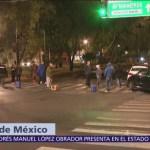 Bloqueo en Talismán y Eduardo Molina por desabasto de gasolina