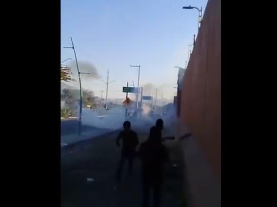Normalistas Chiapas liberan bloque en Tuxtla Gutiérrez