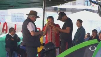 Foto: Bloqueos CNTE Tramos Ferroviarios Michoacán 28 de Enero 2019