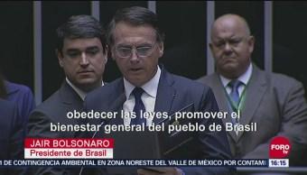 Bolsonaro Jura Como Presidente De Brasil, Presidente De Brasil, 1 De Enero De 2019, Jair Bolsonaro