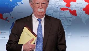 Foto: El asesor de seguridad nacional de Estados Unidos, John Bolton, se dirige a los reporteros durante una conferencia de prensa en la Casa Blanca en Washington, 28 de enero de 2019 (Reuters)