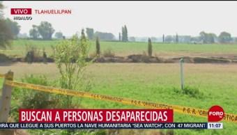 Buscan a personas desaparecidas tras explosión en Tlahuelilpan