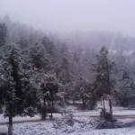 Se mantiene potencial para caída de nieve en norte de México