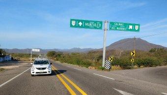 foto carretera huatulco salina cruz oaxaca 21 enero 2019
