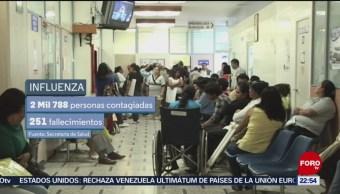 Foto: Casos de influenza aumentan en esta temporada de invierno, 27enero 2019