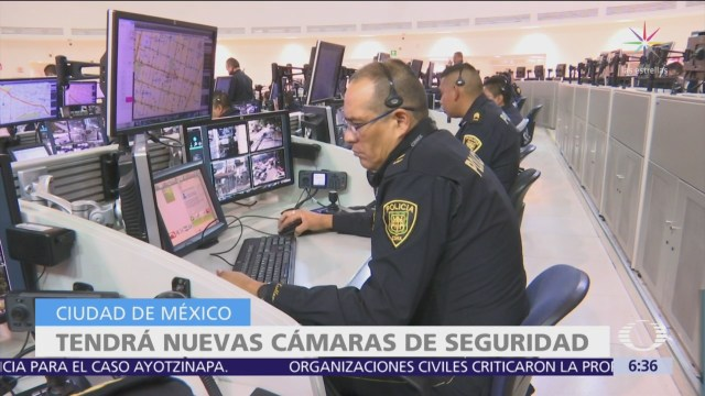 CDMX tendrá 11 mil nuevas cámaras de vigilancia