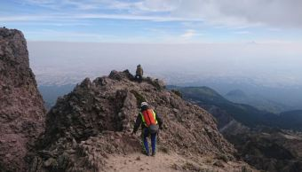 continua rescate de cuerpo de excursionista en cerro malinche en puebla