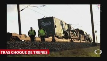 Choque De Trenes Deja Seis Muertos En Dinamarca, Choque De Trenes, Seis Muertos, Dinamarca, Nyborg