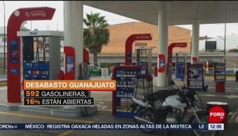 Cifras del desabasto de gasolina en Guanajuato, Querétaro y Jalisco