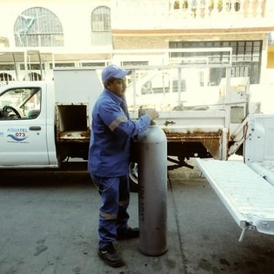 Localizan cilindro de gas cloro robado en Irapuato, Guanajuato