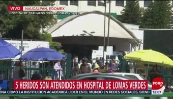 Cinco personas permanecen en Traumatología tras explosión en Tlahuelilpan