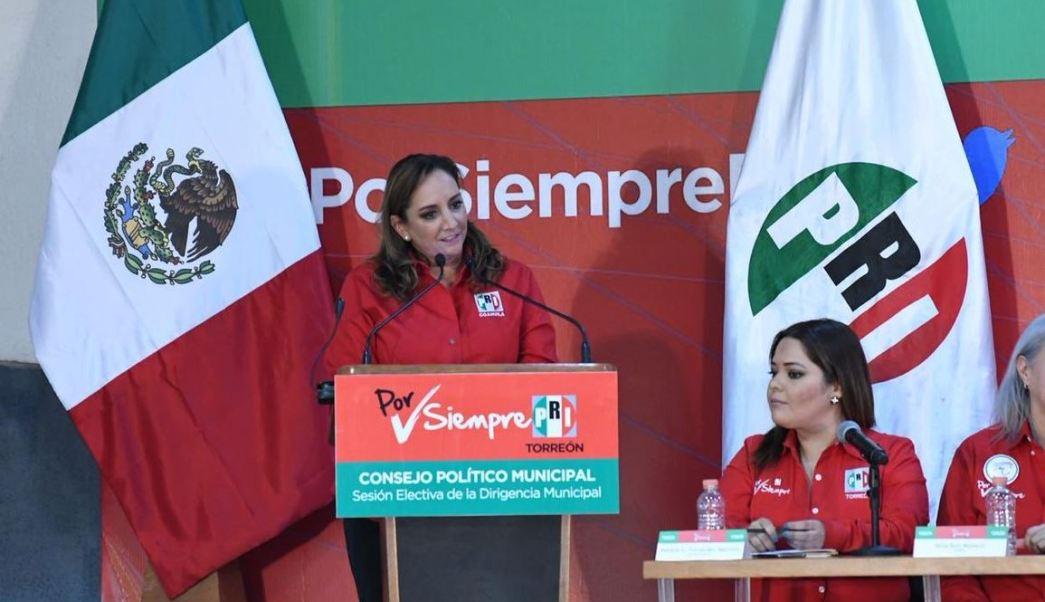 Presidenta del PRI critica estrategia de AMLO contra huachicoleo