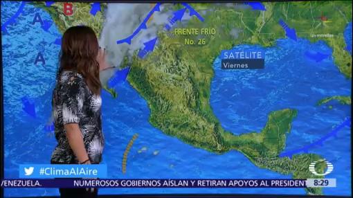 Clima Al Aire: Pronostican cielo nublado en Valle de México