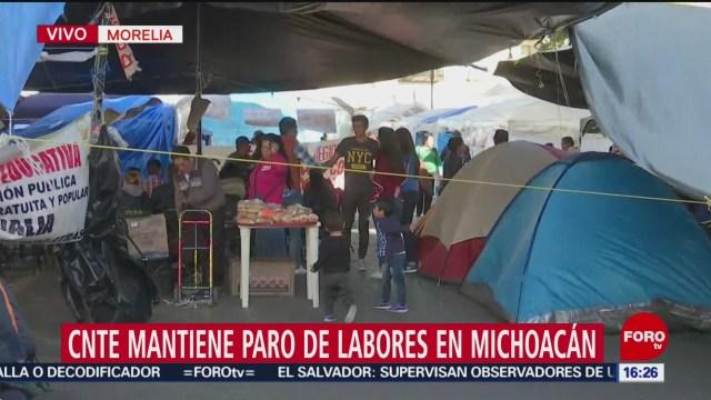 Foto: CNTE señala que podría volver a bloquear vías