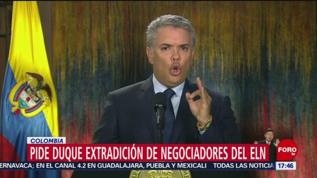 Colombia pide a Cuba que extradite a negociadores del ElN