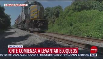 Foto: Traslado Mercancías Vías Férreas Michoacán 31 de Enero 2019