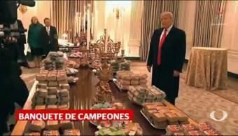 Hamburguesas Pizza Trump Recibe Tigres Clemson