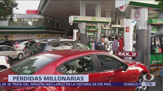 Concanaco Servytur reporta caída en ventas por escasez de gasolina