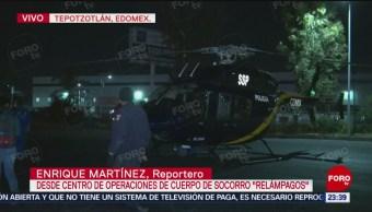 Cóndores Trasladan Heridos Explosión Tlahuelilpan Hidalgo