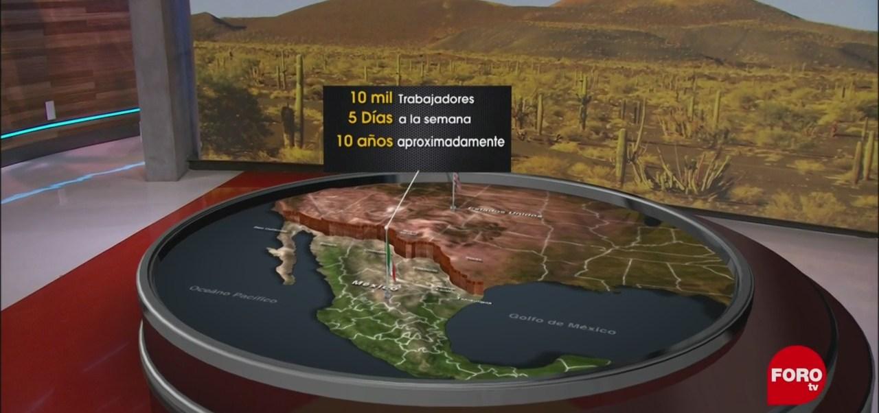 Construcción de muro fronterizo tardaría al menos 10 años