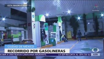 Continúa desabasto de combustible en algunas gasolineras de CDMX
