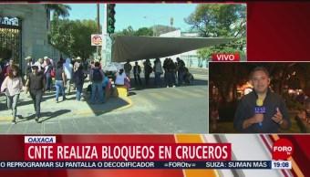 Foto: Bloqueos CNTE Michoacán Oaxaca 29 de Enero 209