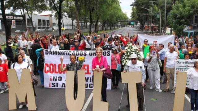 Damnificados Unidos por sismo dan ultimátum a autoridades
