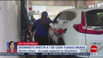 Desabasto afecta 1 de cada 4 gasolineras en Querétaro