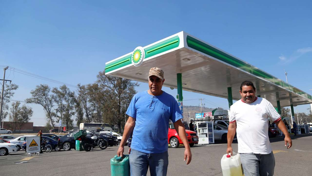 Banxico descarta daño a economía por distribución de gasolinas
