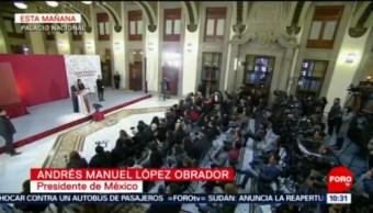 Desmiente AMLO amenaza de bomba en Salamanca
