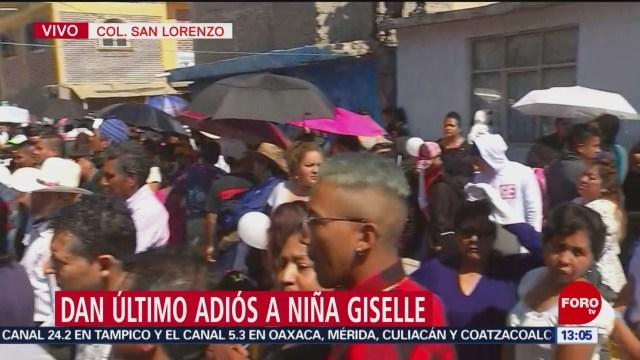 FOTO: Despiden a Gisselle, la niña que fue encontrada muerta en Edomex, 28 enero 2019