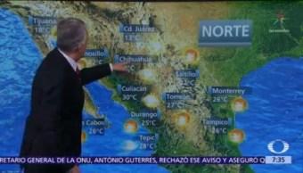Despierta con Tiempo: Frente frío 25 se acerca al norte de México