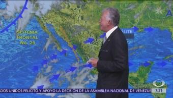 Despierta con Tiempo: Tormentas en Baja California por frente frío