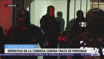 Detienen a hombre en calles de la colonia Condesa, CDMX