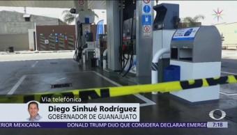 Diego Sinhue: Estrategia de Pemex de usar pipas no ha funcionado en Guanajuato
