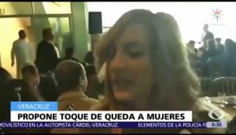 Diputada de Veracruz propone toque de queda para evitar feminicidios