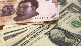 Dólar cierra en 19.73 pesos a la venta en bancos de CDMX