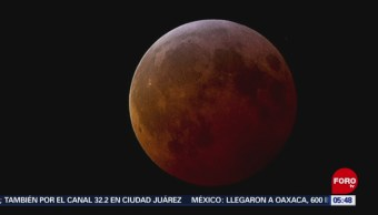 Eclipse lunar y otros fenómenos astronómicos fueron visibles en todo México