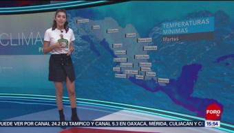 Foto: El clima A las Tres con Daniela Álvarez del 29 de enero de 2019