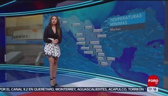 El clima con Mayte Carranco del 22 de enero de 2019