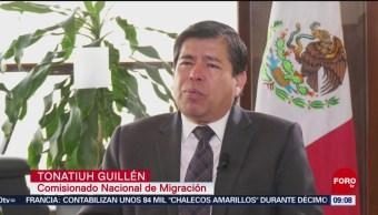 El fenómeno migratorio en México